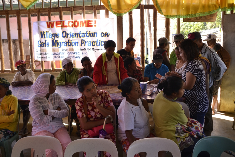 Orientation on Safe Migration Intensified in the Indigenous People's Villages in Maguindanao Province!